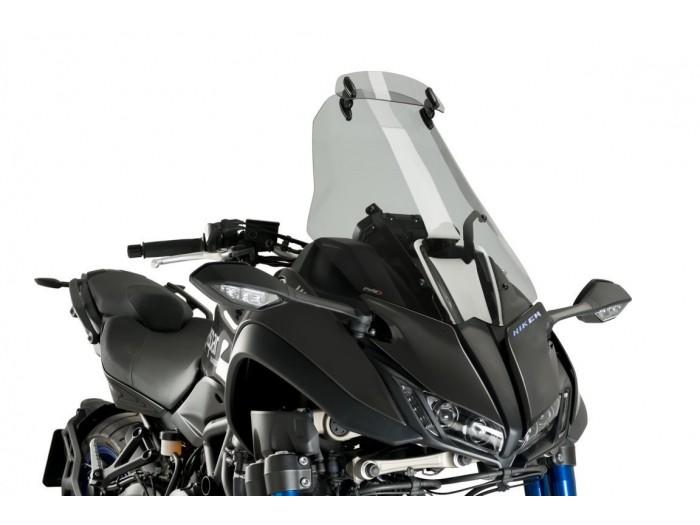 Szyba turystyczna PUIG do Yamaha Niken 18-19 z deflektorem (przyciemniana)